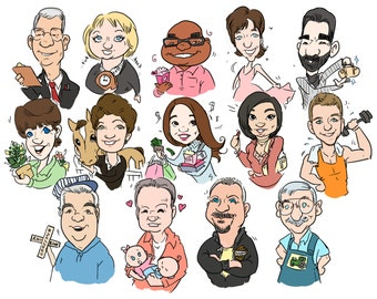 Mini Digital Cartoon Caricature