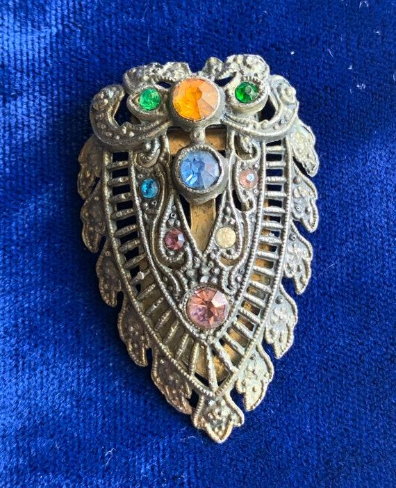 Antique Edwardian Dress Clip