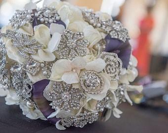 Custom Brooch Bouquet - deposit