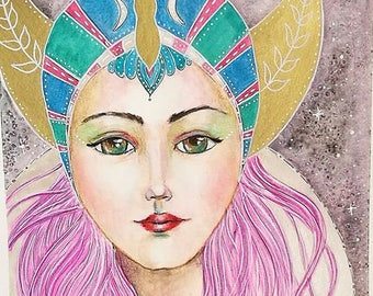 Original Painting : Divine Goddess