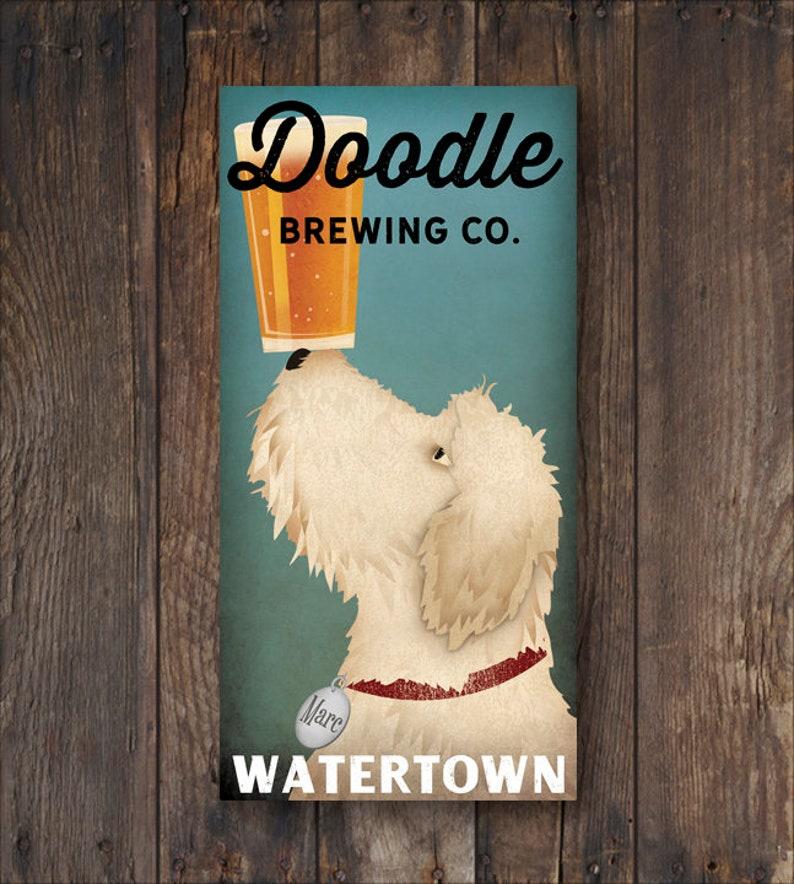 43c62fc00177 Goldendoodle Doodle Labradoodle Wall Art Decor Dog Lover | Etsy