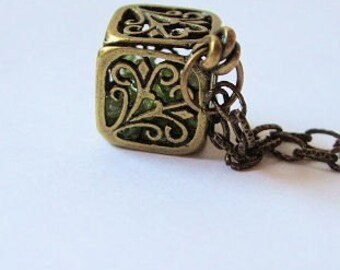 Gemstone Treasure Locket Necklace 03a5f1cb7503