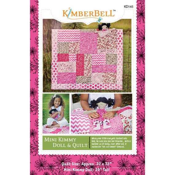Kimberbell Mini Kimmy Doll And Quilt Paper Pattern Etsy