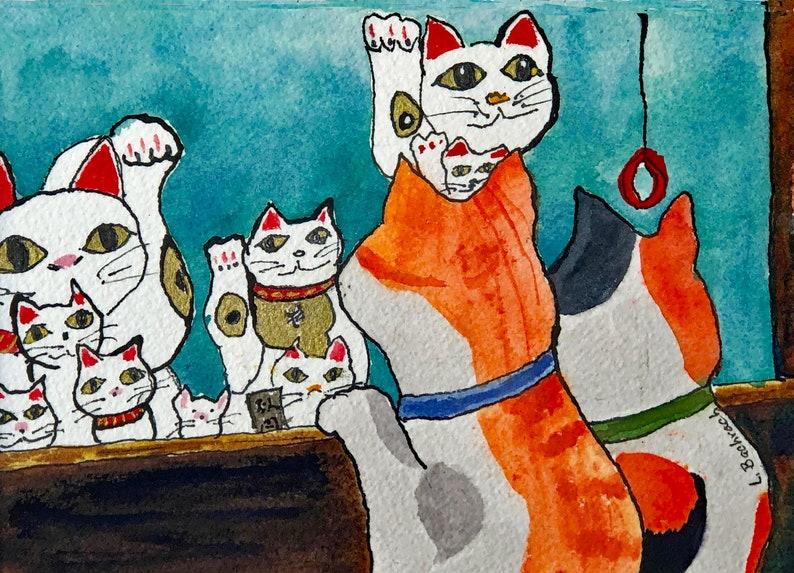 Beckoning Cats Shop Window image 0