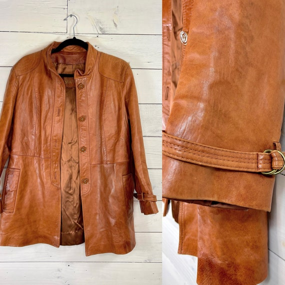 """Brown Leather Jacket Women 