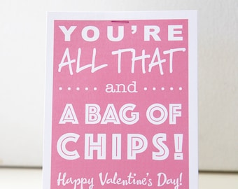 valentine, you're all that!