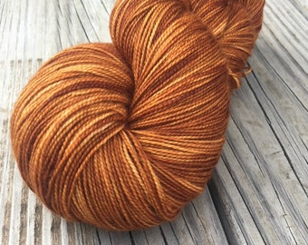 Copper Cove, Cashmere Super Toes Sock Yarn, 80/10/10 swm/nylon/cashmere, 600 yards