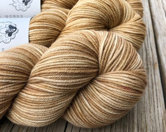 Sandy Beaches | DK Treasures Yarn | tan ecru beige taupe