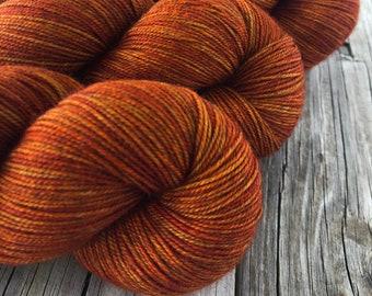 Hand Dyed YAK Sock Yarn, Lusty Wench, Treasured Yak Toes