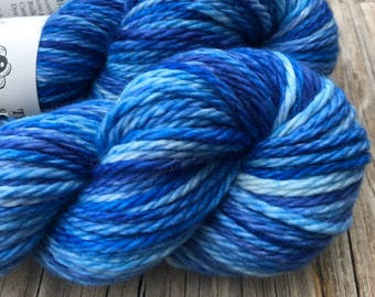 Bluebeard | Big Treasures Bulky Yarn | royal blue