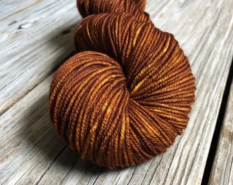 Copper Cove Worsted Weight Yarn Painted 218 yards Superwash Merino Wool ready to ship