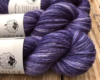 Horizon at Twilight | Big Treasures Bulky Weight Yarn | purple