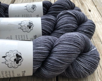 Ghost Ship | DK Treasures Yarn | charcoal gray