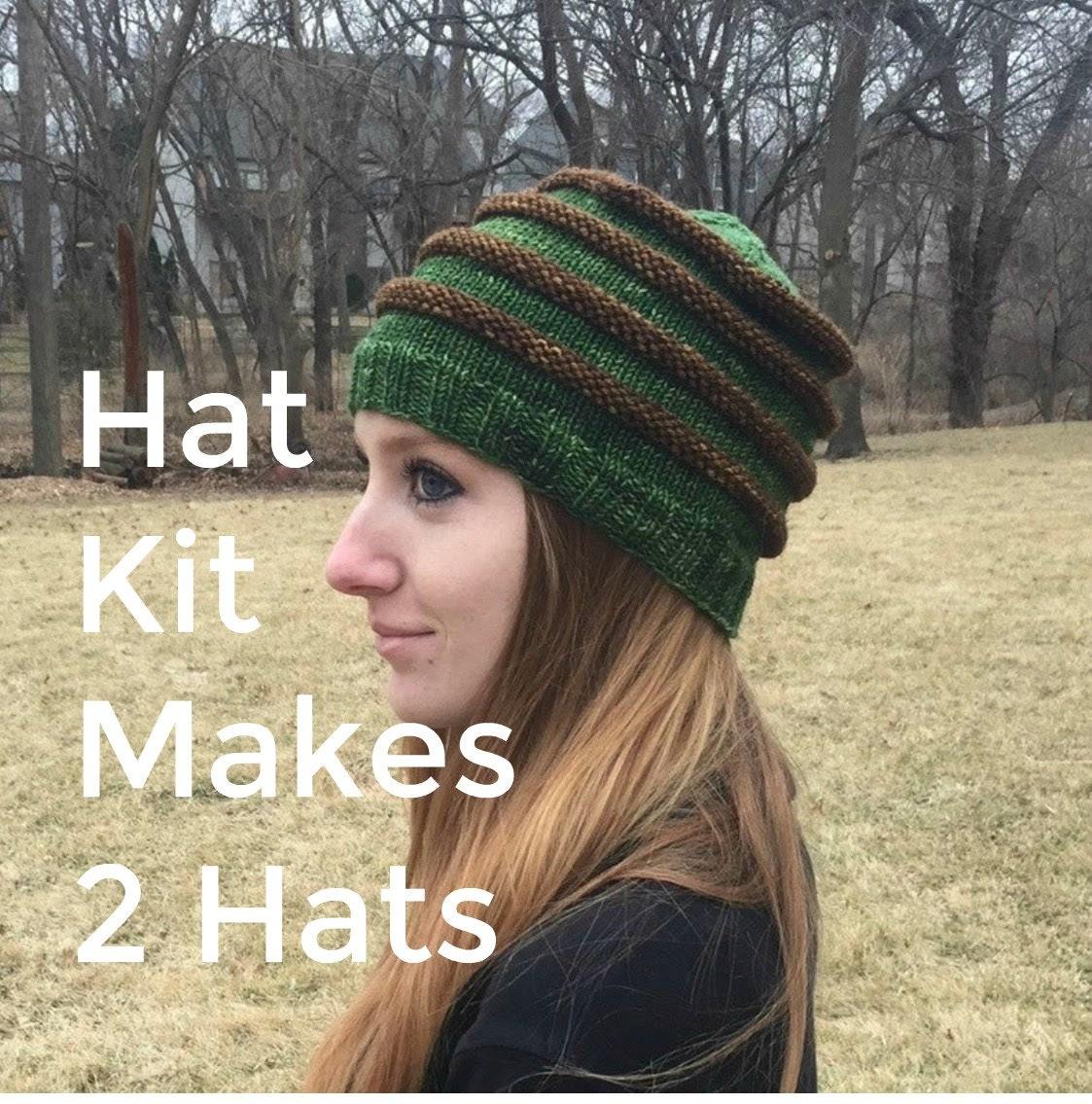 DIY Picture Hat Kit Brown
