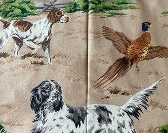 English Springers Loyal Hunting Companions Training in the Green Brush on Camel Ground