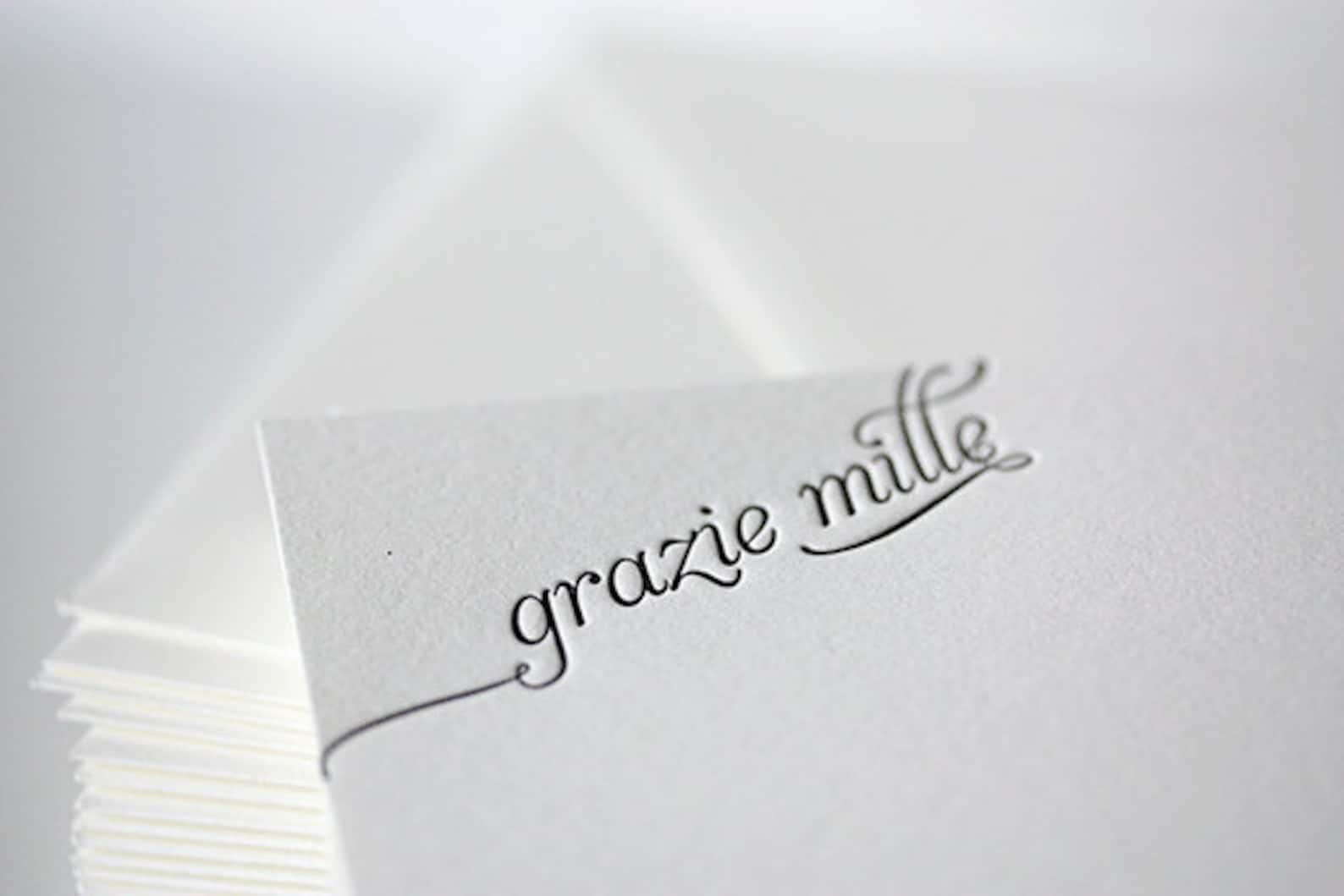 Юбилеем, спасибо по итальянски открытка