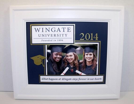 L'obtention du diplôme Photo Mat - personnalisé les couleurs n'importe quel Message - sans cadre insert pour cadre 8 x 10 détient photo 4 x 6