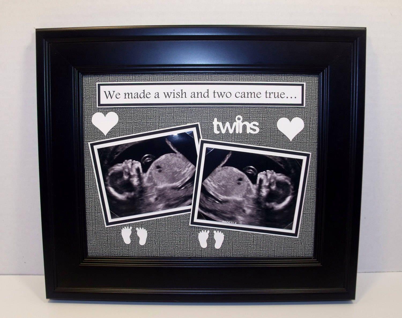 Zwillinge Ultraschall Ultraschall Ultraschall-Bilderrahmen | Etsy