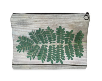Carry All Pouch  Flat  Cute Leaves
