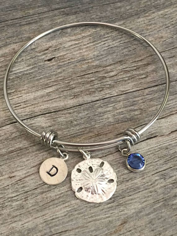 b4b5f86c14d Sand Dollar Jewelry Sand Dollar Bracelet Beach Lover Gift | Etsy