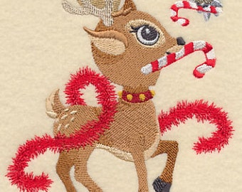 TRIM THE TREE AzEB Dasher Machine Embroidery Quilt Block