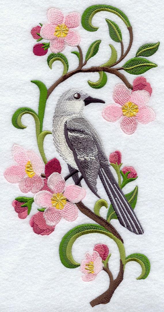 ARKANSAS MOCKINGBIRD APPLE Blossom Medley Machine