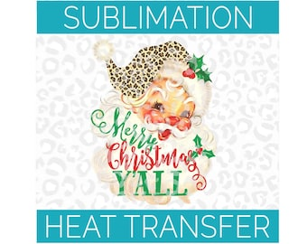 Merry Christmas Windmill Sublimation Transfer Ready To Press