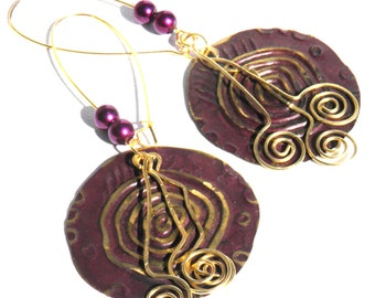 Circles of Dance Earrings