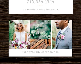 Business card template wedding photographer business card photography business cards digital photoshop template for photographers wedding photography business card design templates reheart Image collections