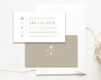 Printable photography business card template photographer photographer business card template for photographers customizable photoshop designs simple photography business card template reheart Gallery