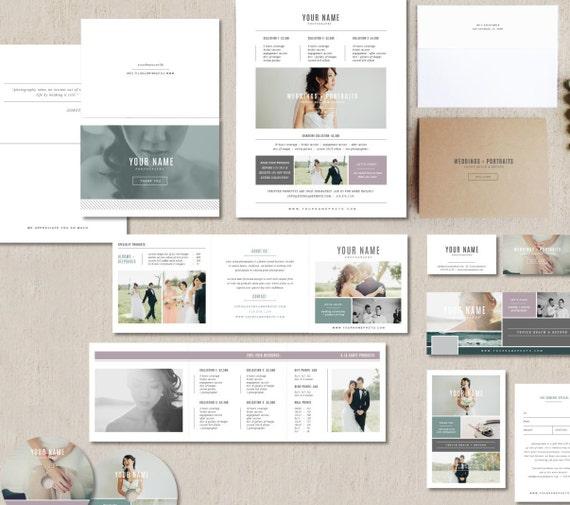 Wedding Photographer Marketing Set Photo Business Cards Etsy