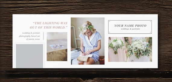 Photography Templates Facebook Cover Design Template Etsy