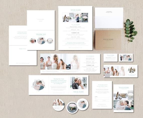 Photography Templates Photography Marketing Set For Wedding Etsy