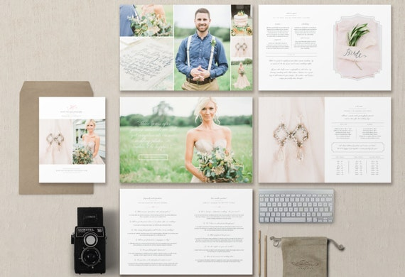 Instant Download Photography Marketing Templates Branding Etsy
