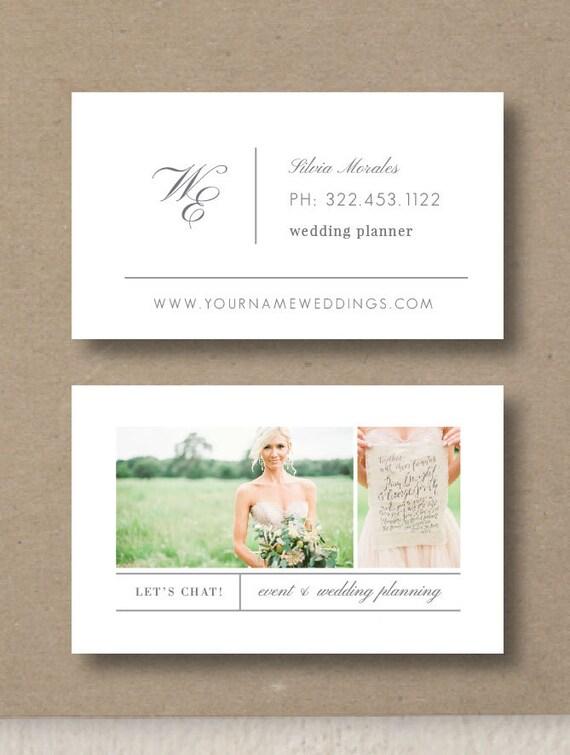 Fotografie Vorlagen Visitenkarten Hochzeit Planer Visitenkarte Vorlage Event Koordinator Vorlagen Foto Marketing Vorlagen