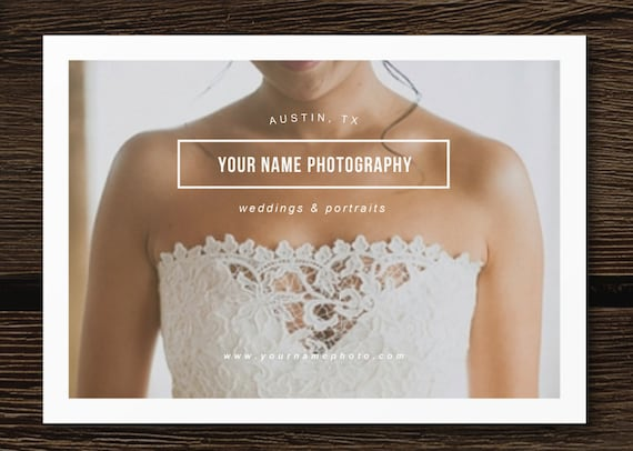 pricing guide flyer template for photographers wedding etsy