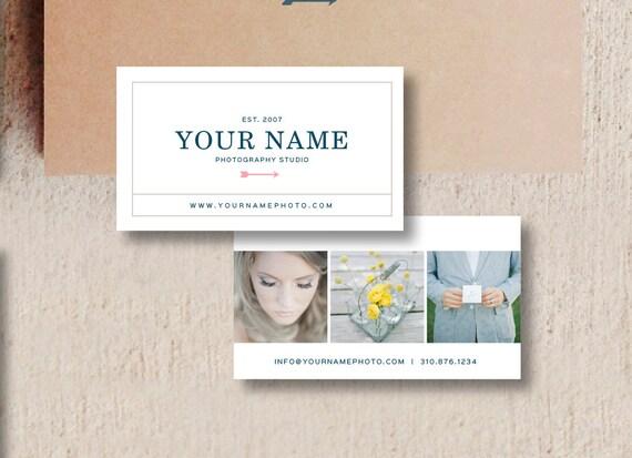 Cartes De Visite Photographie Template PSD Pour Photographe Mariage Moderne Photo Modle Marketing