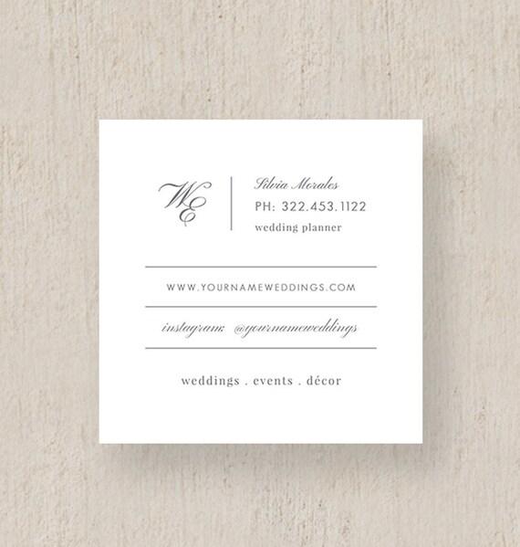 Moo Visitenkarten Event Koordinator Visitenkarten Photoshop Vorlage Für Hochzeitsplaner Anpassbare Visitenkarten