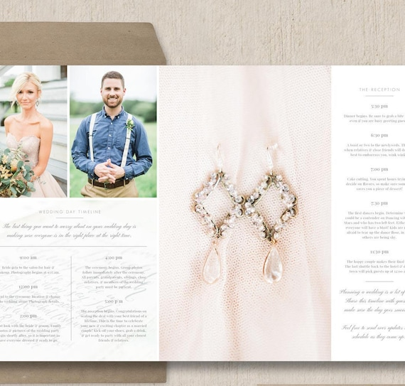 Wedding Day Timeline Template For Photographers