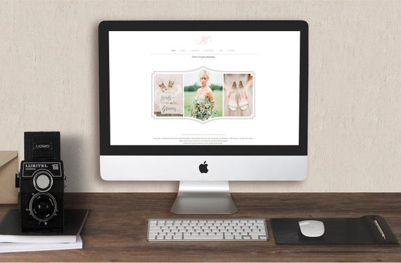 Photography Templates Squarespace Template For Photographers Etsy