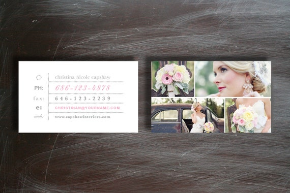 Business card template photography business card etsy image 0 accmission Choice Image