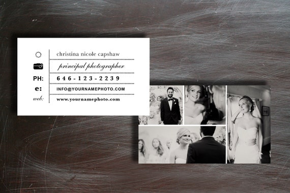 Photographie Carte De Visite Design