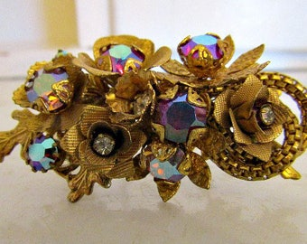 Beautiful Wired Pin With Large Stones