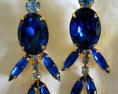 Gorgeous Blue Earrings-They Move