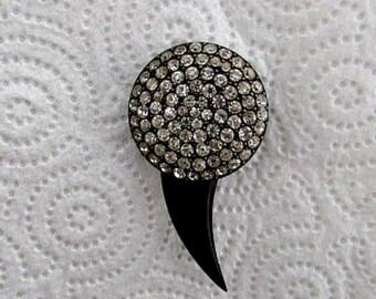 Sexy Rhinestone Hat/Stick Pin-So. Much. Sparkle.