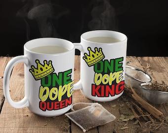 One Dope Queen Mug | One Dope King Mug