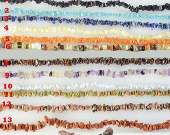 SALE-Gemstones chips bracelet