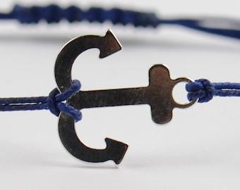 Anchor sterling silver  bracelet.Mens bracelet.Womens bracelet.NR