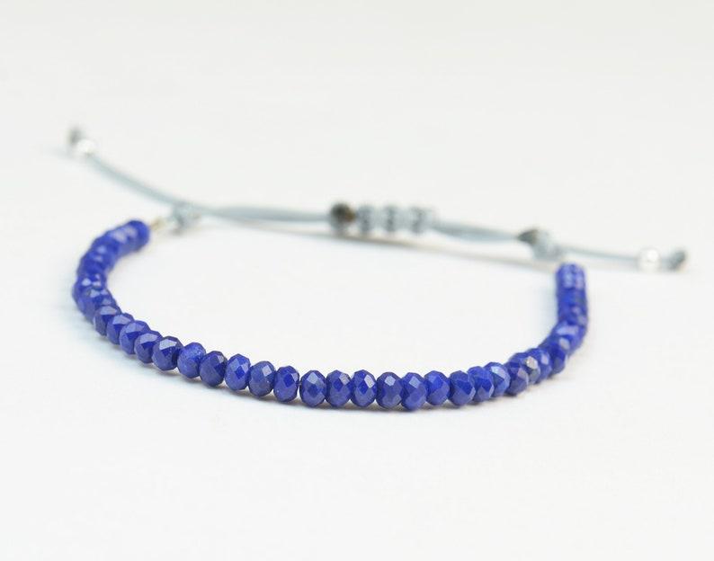 Lapis lazuli bracelet image 0