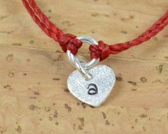 sterling silver personalized bracelet